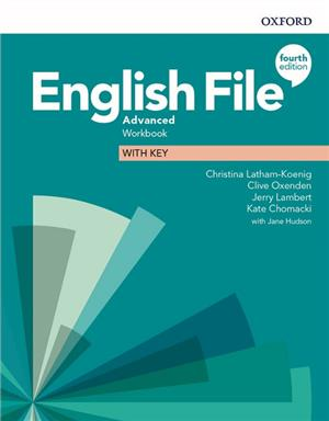 english file 4e advanced workbook with key - ISBNx: 9780194038539