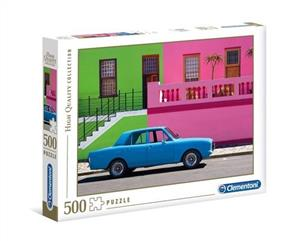puzzle 500 high quality collection the blue car - ISBN: 8005125350766