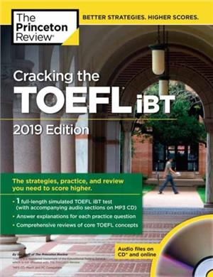 cracking the toefl ibt with audio cd 2019 edition - ISBNx: 9780525567882