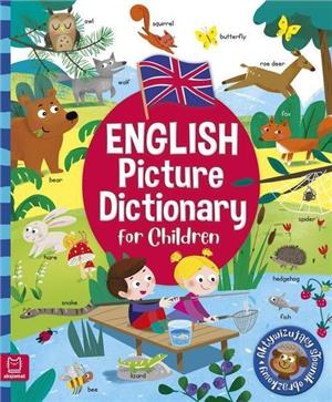 english picture dictionary for children oprawa miękka - ISBN: 9788381068628