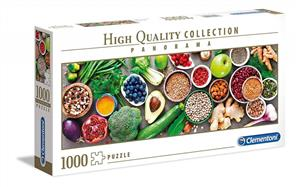 puzzle 1000 panorama high quality collection healthy veggie - ISBN: 8005125395187