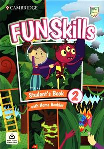 fun skills 2 students book with home booklet and downloadable audio - ISBN: 9781108677370
