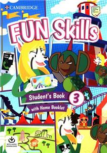 fun skills 3 students book with home booklet and downloadable audio - ISBN: 9781108563703