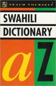 teach yourself swahili dictionary - ISBNx: 9780340546956