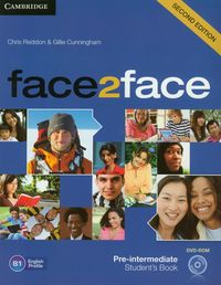 face2face pre-intermediate students book with dvd-rom 2nd edition - ISBN: 9781107422070