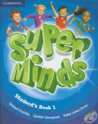 super minds 1 students book with dvd-rom - ISBN: 9780521148559