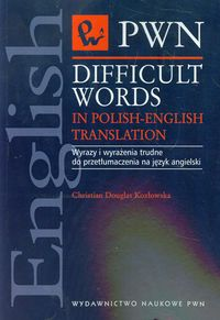 difficult words in polish-english translation - ISBNx: 9788301142889
