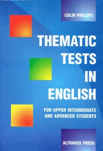 thematic tests in english - ISBNx: 9788385983545