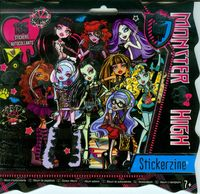album z naklejkami monster high - ISBN: 0787909640512