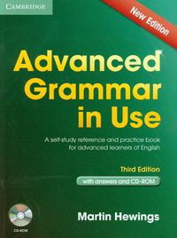 advanced grammar in use 3rd edition book with answers and cd-rom - ISBN: 9781107699892