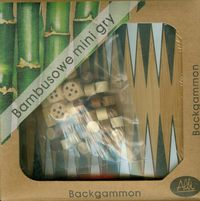 bambusowe mini gry backgammon - ISBN: 859022809138354