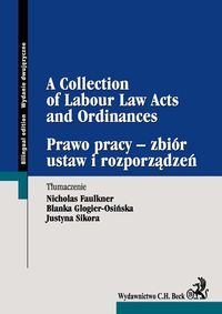 a collection of labour law acts and ordinances - ISBNx: 9788325544423