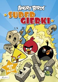 angry birds - super gierki - ISBN: 9788324599769