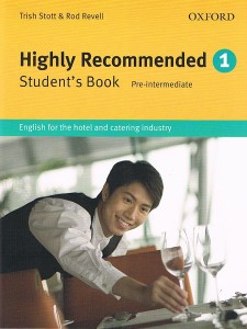 highly recommended 1 students book - ISBN: 9780194574631