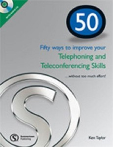 50 ways improve your telephoning and teleconferencing skills book with cd - ISBN: 9781905992065