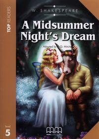 a midsummer nights dream students book poziom 5 - ISBN: 9789604781133