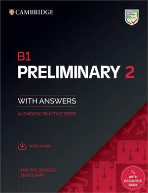 b1 preliminary 2 students book with answers with audio with resource bank - ISBNx: 9781108781558