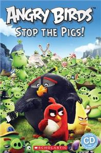 popcorn readers 2 angry birds stop the pigs  reader audio cd - ISBNx: 9781407169866