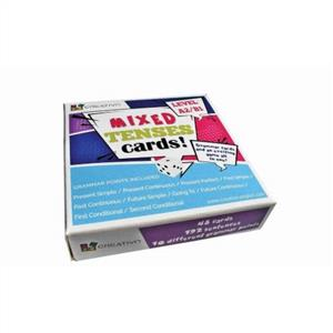 mixed tenses cards level a2 b1 - ISBNx: 9788366122635