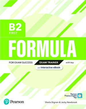 formula b2 first exam trainer and interactive ebook with key - ISBNx: 9781292391434