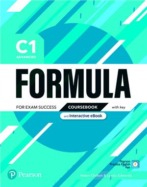 formula c1 advanced coursebook and interactive ebook with key - ISBNx: 9781292391489