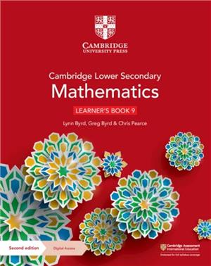 cambridge lower secondary mathematics learners book 9 with digital access 1 year - ISBNx: 9781108783774