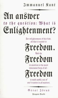an answer to the question what is enlightenment - ISBN: 9780141043883