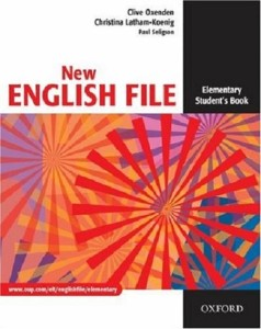 new english file elementary students book - ISBN: 9780194384254