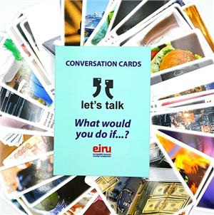 karty konwersacyjne - lets talk - what would you do if - ISBNx: 9788395148217