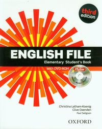 english file third edition elementary students book with itutor dvd-rom - ISBN: 9780194598644