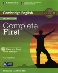 complete first 2e students book with answers  cd rom - ISBN: 9781107656178