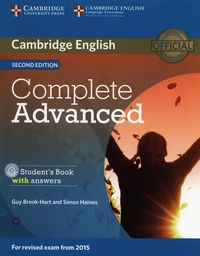complete advanced 2ed student book with answers  cd-rom - ISBN: 9781107670907