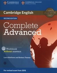 complete advanced 2ed workbook without key  audio cd - ISBNx: 9781107631489
