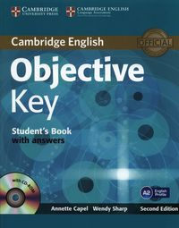 objective key 2ed sb with answers cd-rom - ISBNx: 9781107627246