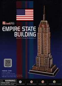 puzzle 3d empire state building - ISBNx: 6944588207045