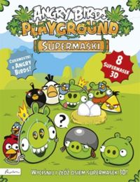 angry birds playground supermaski - ISBN: 9788327100221