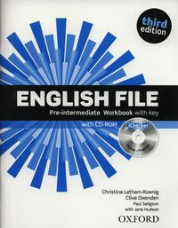 english file third edition pre-intermediate workbook with key  ichecker pack - ISBN: 9780194598736