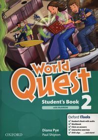world quest 2 students book pack - ISBN: 9780194125956
