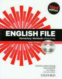 English File Third Edition Elementary Workbook & iChecker Pack