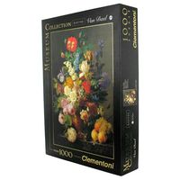 puzzle 1000 museum louvre bowl of flowers - ISBN: 8005125314157