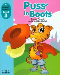 puss in boots students book poziom 3 - ISBNx: 9789604432837