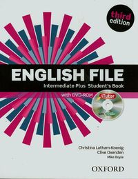 english file third edition intermediate plus students book  itutor pack - ISBN: 9780194558310