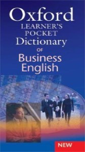 oxford learners pocket dictionary of business english - ISBNx: 9780194317337