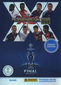 adrenalyn xl klaser update edition champions league - ISBN: 8018190067453