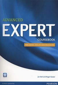 advanced expert - third editon 2015 coursebook - ISBN: 9781447961987