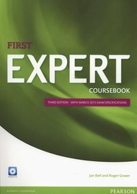 first expert 2015  coursebook with audio cd - ISBN: 9781447962007