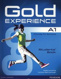 gold experience a1 - students book with dvd-rom - ISBN: 9781447961888