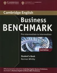 business benchmark 2e pre-intermediate-intermediate business preliminary sb - ISBN: 9781107693999