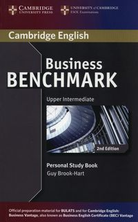 business benchmark 2e upper-intermediate bulats and business vantage personal study book - ISBN: 9781107686601