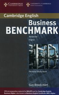business benchmark advanced personal study book for bec and bulats - ISBN: 9780521672979